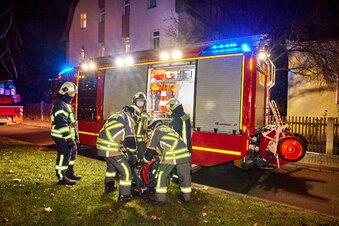 Küchenbrand in Heidenau