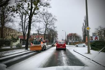 Ein Hauch von Winter in Sachsen