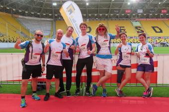 In Dresden läuft's wieder - mit der Team Challenge
