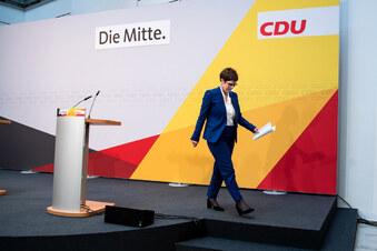 Tempo beim Wechsel an der CDU-Spitze
