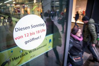 Corona: Vier Einkaufssonntage in Dresden?