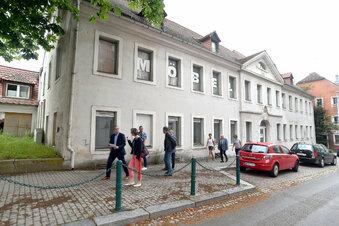 Historische Fassade für Löbaus Edeka