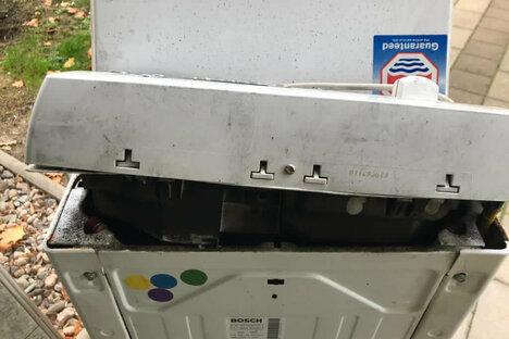 Waschmaschine löst Einsatz aus