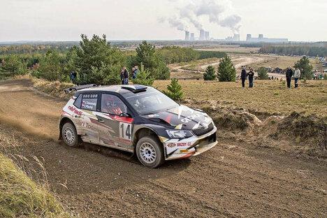 Lausitz-Rallye mit Zuschauern