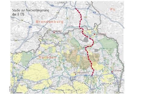 Zittau: Kommt die B178-Nordverlängerung?