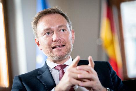 Lindner will Finanzminister werden