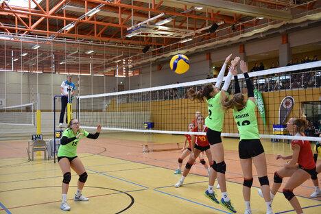 Volleyballfinale in Dipps