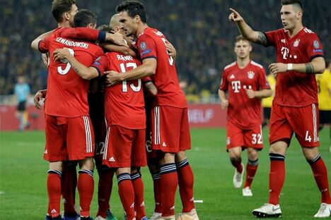 FC Bayern siegt in Champions League