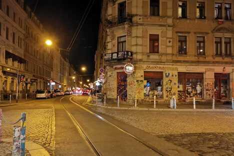 So lief das erste Lockdown-Wochenende in Dresden