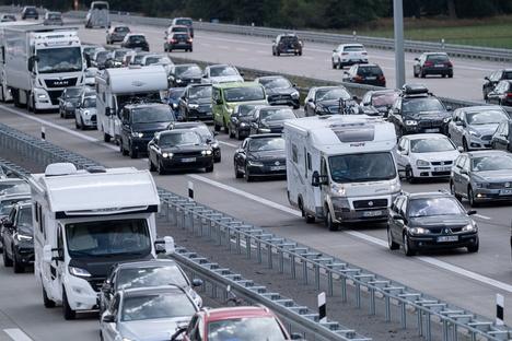 A9 nach Lkw-Unfall wieder frei