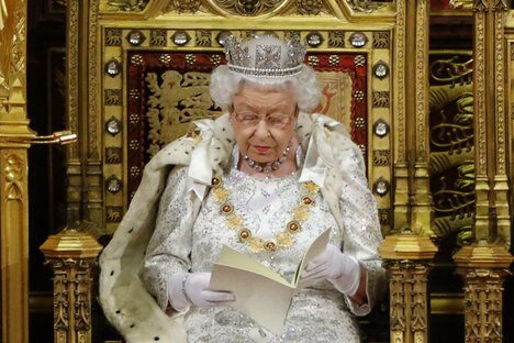 Die Queen liest Johnson