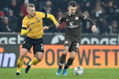 Dynamo empfängt St. Pauli im DFB-Pokal an einem Mittwoch