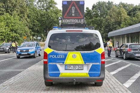 Gemeinsame Grenzkontrollen sind zurück
