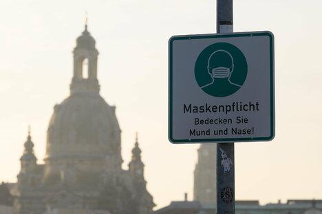 Deutschland & Welt: Corona: Inzidenz in Sachsen sinkt