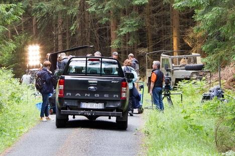 Ranger-Filmcrew dreht in Stadt Wehlen
