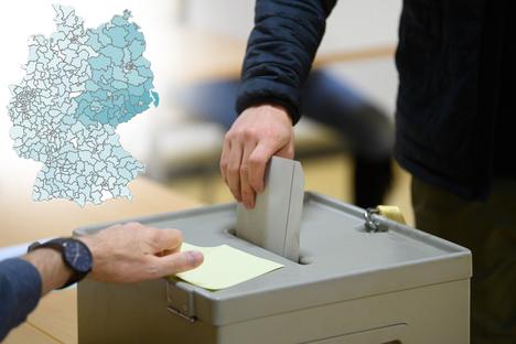 Politik: Wo die Parteien ihre Hochburgen haben