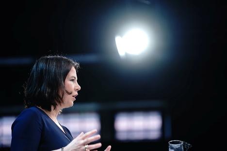 Feuilleton: Auf ProSieben bekommt Baerbock nur freche Fragen