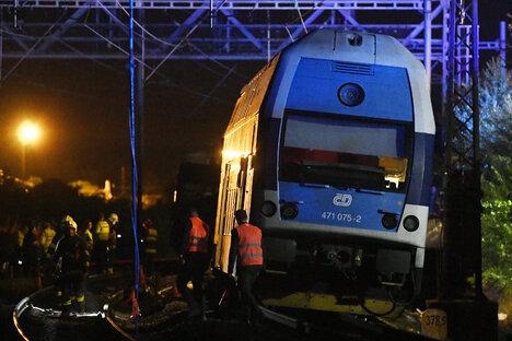 Zweifel an Sicherheit in Tschechiens Zügen