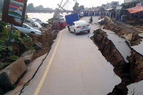 Tote nach schwerem Erdbeben in Pakistan