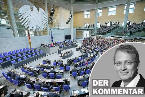 Politik: Neuer Bundestag: Nie war er so wertvoll