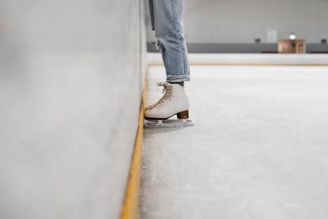 Eislaufsaison in Dresden hat begonnen