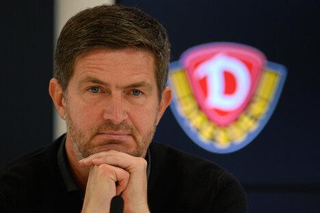 """Dynamo: """"Auf die Mannschaft lasse ich nichts kommen"""""""