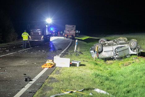 Tödlicher Unfall an Autobahnzubringer