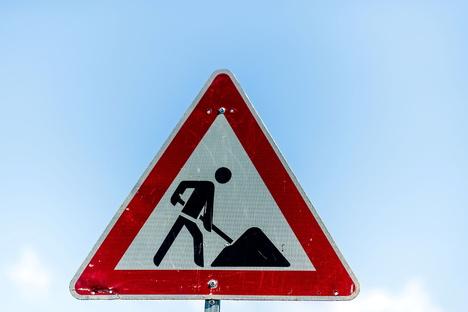 B 96: Sperrung wegen Straßenbau