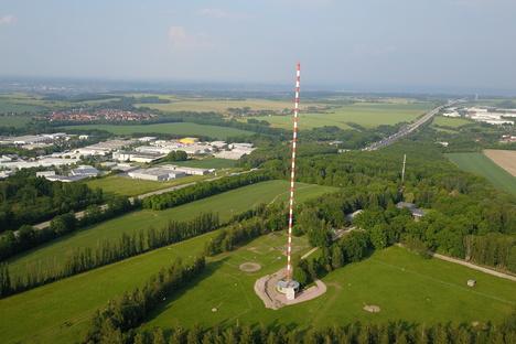 Freital: Wilsdruff: Rettet ein Amt die Riesenantenne?
