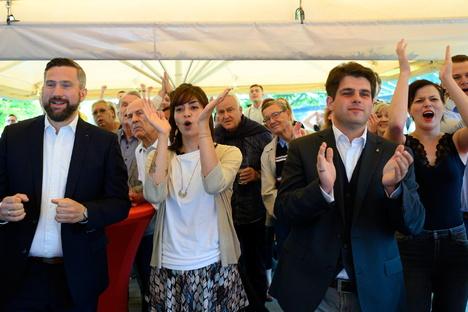 Sachsen: Jubelstimmung bei Sachsens SPD