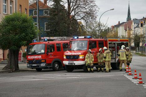 Bautzen: Küchenbrand im Mehrfamilienhaus