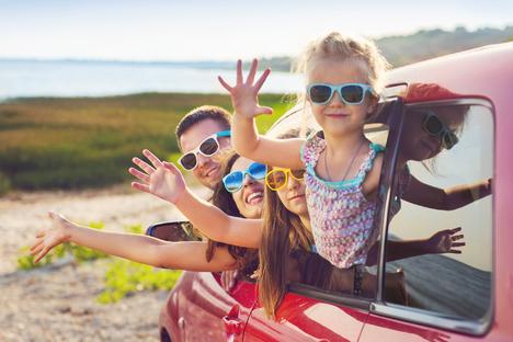 Familie und Kinder: Ferienzeit, schönste Zeit!