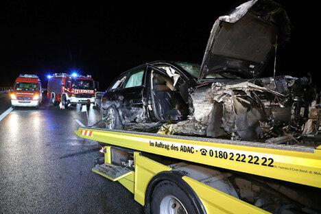 Schwerverletzte bei mehreren Unfällen