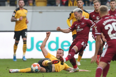 Dynamos Kapitän spielt jetzt Stürmer