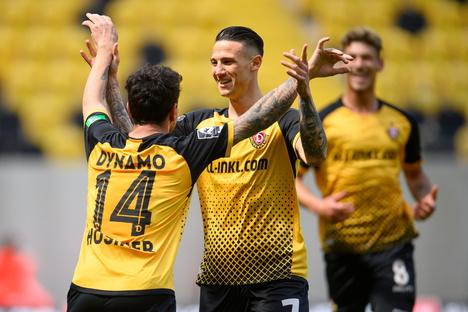 Dynamo: Nach Sieg: Dynamo nur noch ein Schritt vorm Aufstieg