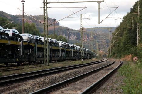 Bahnstrecke nach Prag wieder frei
