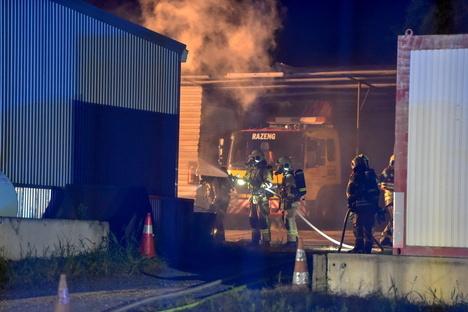 Bautzen: Strafverfahren nach Brand bei Abschleppdienst