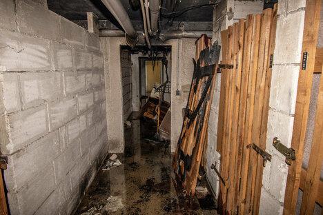 Wohnungen für Brandopfer werden saniert