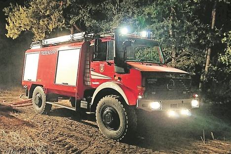 Trebendorf lässt Feuerwehrauto generalüberholen