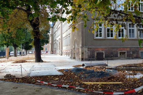 Neuer Schulhof für die Triebischtalschule
