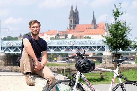 Mit Rad und Tat durch Meißen