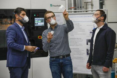 Corona: Fraunhofer entwickelt Maske