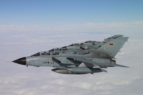 Bundeswehr trainiert über Döbeln