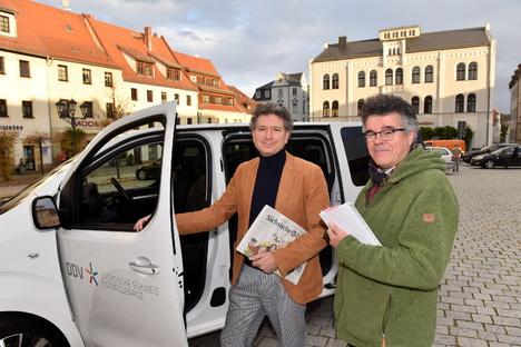 Redaktion auf Rädern kommt nach Schmiedeberg