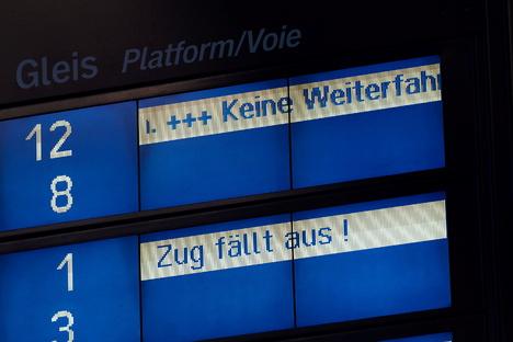 Bahnreisende müssen weiterhin mit Streik rechnen