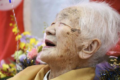 117-Jährige knackt in Japan Altersrekord