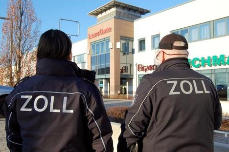 Zoll-Einsatz in Hoyerswerda