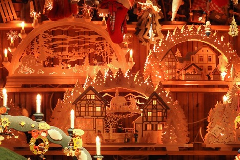 Weihnachtszeit in Sachsen