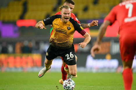 Dynamo verliert Heimspiel gegen Zwickau