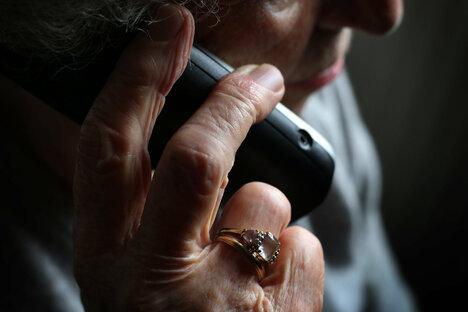 Senioren in der Betrugsfalle